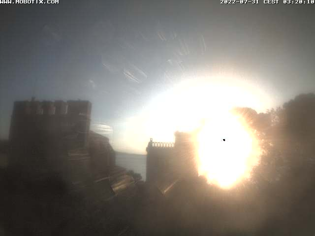 St. Martí d'Empuries Church Webcam